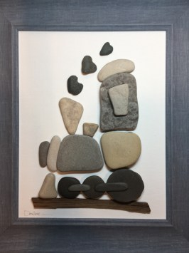 Great Lakes Rock Art – Artwork creations made with Great Lakes rocks
