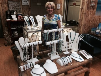 Cheryl Green Display in Island Jewel