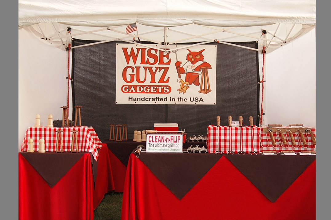 Wise Guyz Gadgets – Tools: BBQ Grille, Nutcrackers, Turkey Lifters, Gardening