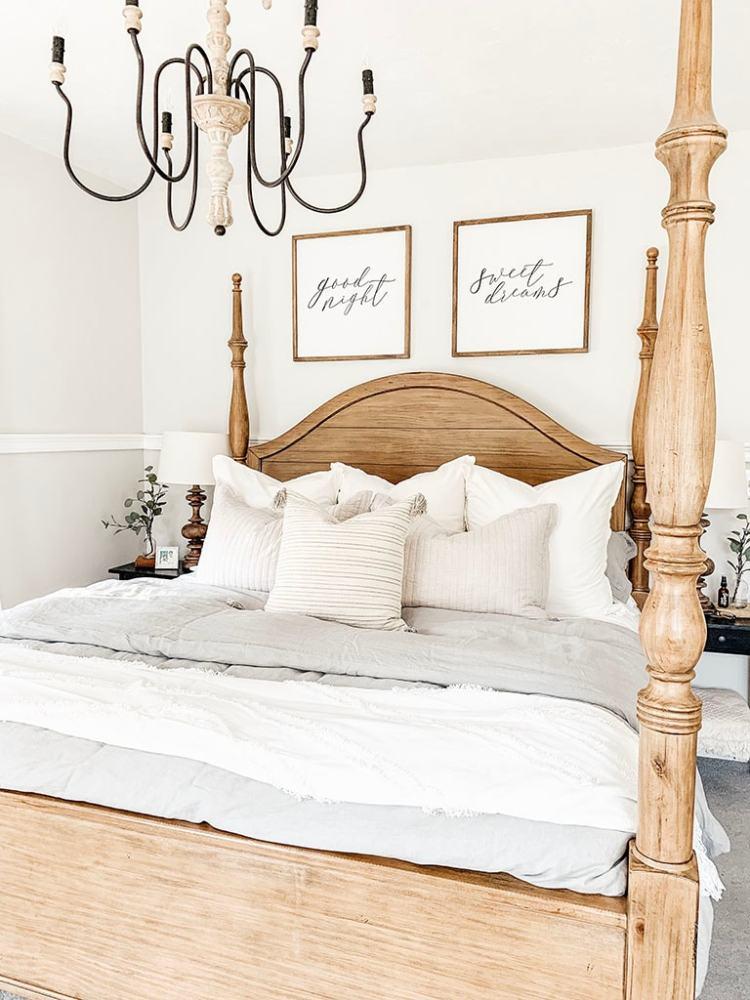 Master Bedroom Bedding Reveal Micheala Diane Designs