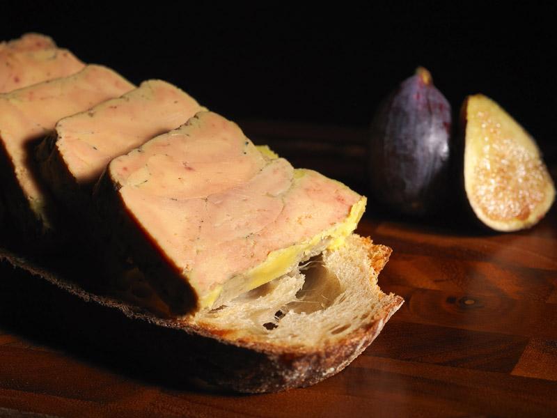 © Michel Kalifa - Maison David, Foie gras aux figues
