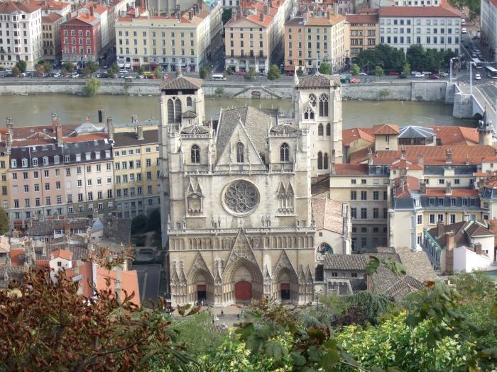 cathédrale saint jean lyon
