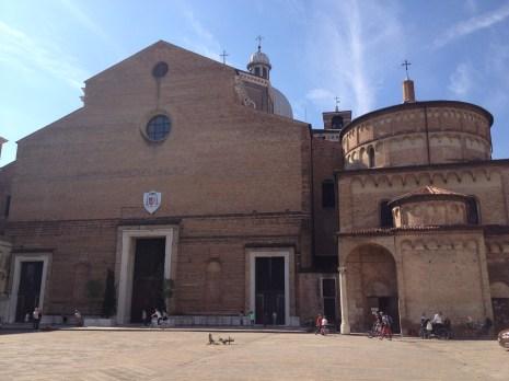 Padua churches