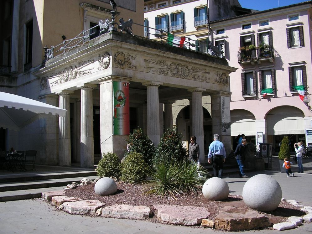One of Italy's most famous cafes, the Pedrocchi