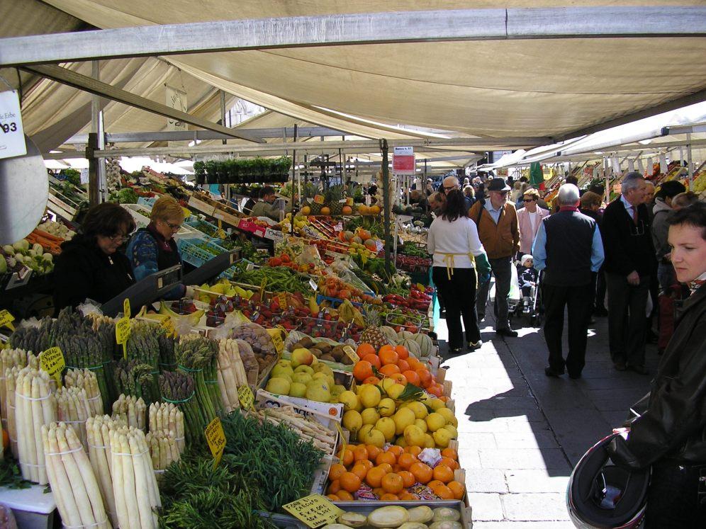mercato a Padova