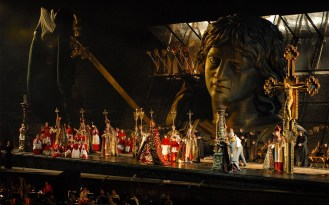 Stage of the Arena di Verona, Italy