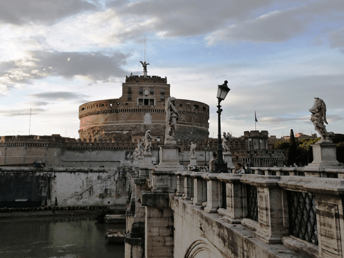 Castel St. Angelo in Rome
