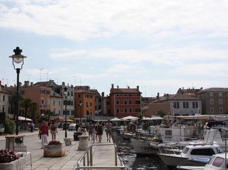Harbour in Rovinj