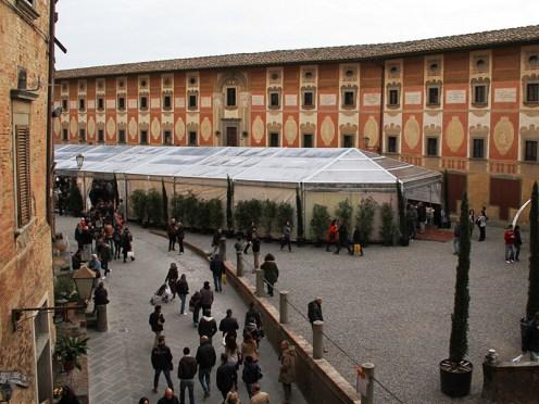 Italy's famous white truffles