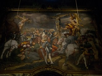 Fresco in Cremona's Cathedral