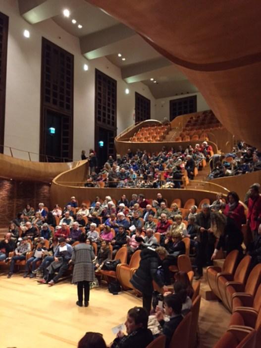 Auditorium in the Violin Museum in Cremona