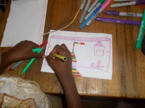 "Detail, ""The future of Malika"", suburb of Dakar"