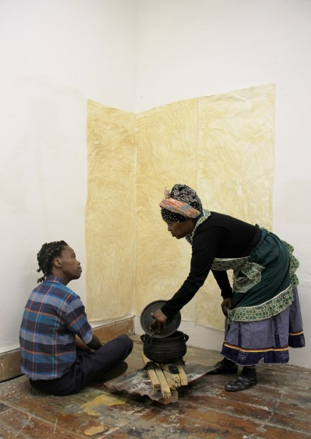 """Michela Valsania in collaboration with Vusisizwe Jason """"Where the story begins"""" 1/2"""