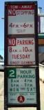San Francisco parking sign