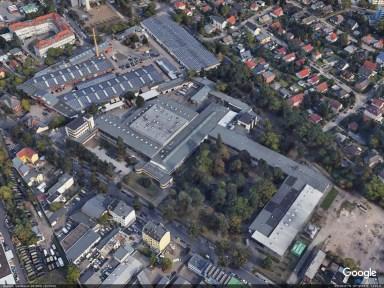 Lindner plant in Berlin-Wittenau, Lübarser Str.