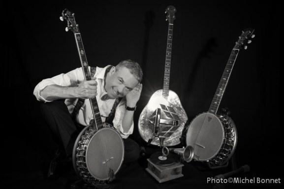 Stan Laferrière banjos