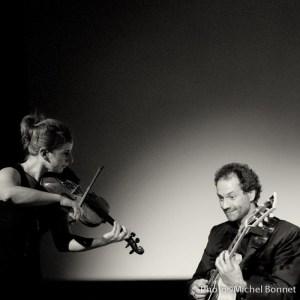 Aurore Voilqué et Nicolas Peslier