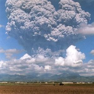 june 12,1991,the eruption of the mount Pinatubo,in Philippinas.