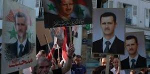 Pendant ce temps ,à Damas une foule acclame son président méprisé par le Nouvel Ordre Mondial...parce qu'il  veut rester souverain.