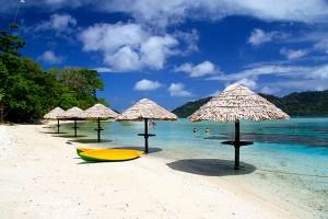 L'hotel Eco Resort...ce qui en reste!