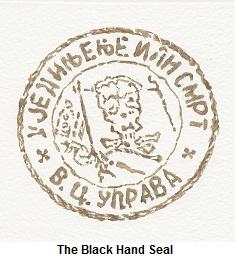 Le sceau de la Main Noire