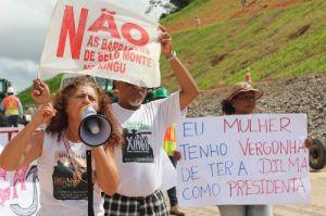 Antonia Melo,la très populaire dirigeante du mouvement Xingu.