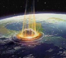 L'événement,il y a 65 millions d'années.