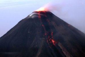 Volcan Colima ,Mexique
