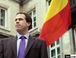 Laurent Louis,président du Mouvement pour la Liberté et la Démocratie...est actuellement député européen.