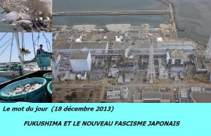 Le mot du jour  Fukushima et le nouveau fascisme japonais  entrée 01