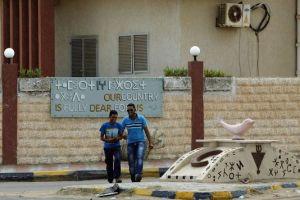 A Zouara, en novembre. Les Berbères réclament la reconnaissance de la langue amazigh dans la Constitution libyenne.