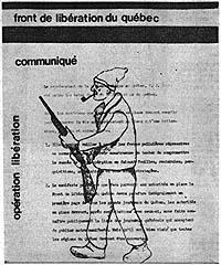 L'enlèvement de Pierre Laporte  par le Front de Libération du Québec est une réaction au pouvoir  de la corruption et de la collusion entre l'olygarchie gérée par le Parti libéral  du Québec et le crime organisé sous toutes ses formes. Il manque une photo ici pour tout mettre en relief,car elle a été  enlevé des médias par...X.Cette photo représentait Vincent Cotroni assis avec le ministre Pierre Laporte,juste avant l'élection de 1970,au Québec.