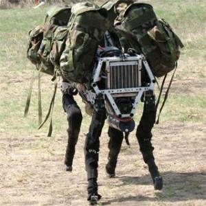 De nouveaux types de robots-soldats seraient mis au point pour remplacer surtout...les fantassins,sur les champs de bataille.