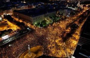 Manifestation monstre du 22 mars 2014,le peuple espagnol a bien signifié sa volonté d'en finir.