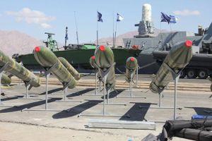 Missiles iraniens supposément saisis à Gaza.