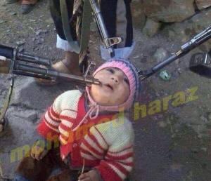 On menace des enfants,car ils ne sont pas islamiques...peut-être.