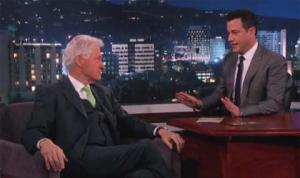 C'était ce mercredi 2 avril 2014 sur le plateau de Jimmy Kimmet Live.
