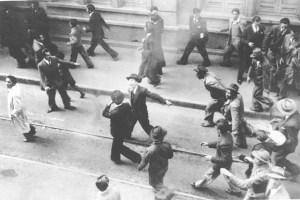 Photo du meurtre de Jorge Eliécer  Gaitan.