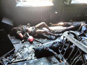 Une véritable vue d'enfer:le dossier des crimes contre l''humanité s'épaissit contre le régime nazi de Kiev.