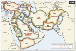 Le projet secret du gouvernement américai: le proche-Orient élargi.
