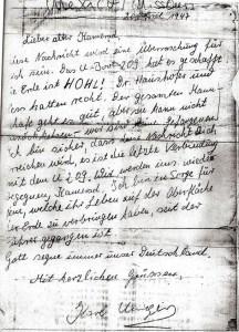 La lettre authentique.
