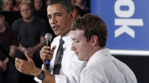 Obama et Zuckerberg...