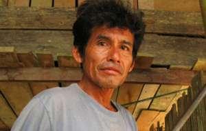 Le leader indigène asháninka Edwin Chota a été assassiné le 1er septembre 2014 par des bûcherons illégaux.