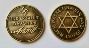 Des discussions  furent entreprises afin de trouver un terrain d'entente entre les chefs sionistes et  le Troisième Reich.Cet accord fut conclu autour  d'une aide du Reich  pour créer un état juif en Palestine. C'est pourquoi cette médaille fut remise au chef sioniste qui  négocia l'accord de transfert de population juive allemande.