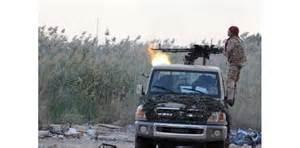 Le 3 novembre 2014,les milices islamistes commencent leur attaque  des installations américaines.
