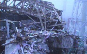 Un des réacteurs qui a explosé à Fukushima,en 2010