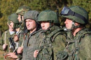 L'armée russe débarque.