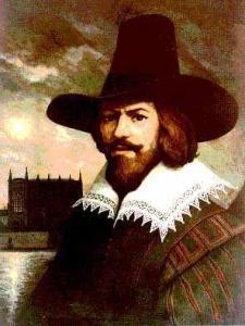 Guy Fawkes, le légendaire personnage qui donnera son visage et son costume inspirant V pour Vendetta!
