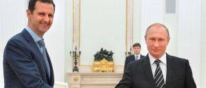 Vladimir Poutine et Bachar al-assad se sont rencontré hier à Moscou.