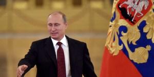 """Selon Vladimir Poutine:""""Un coup de poignard dans le dos!"""""""